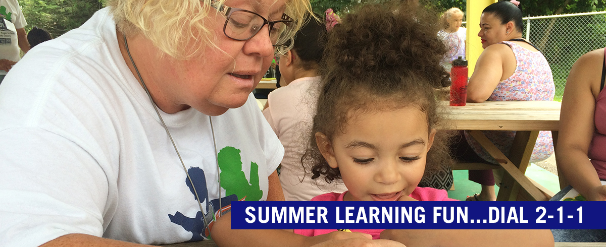 Summer Learning Fun...Dial 211